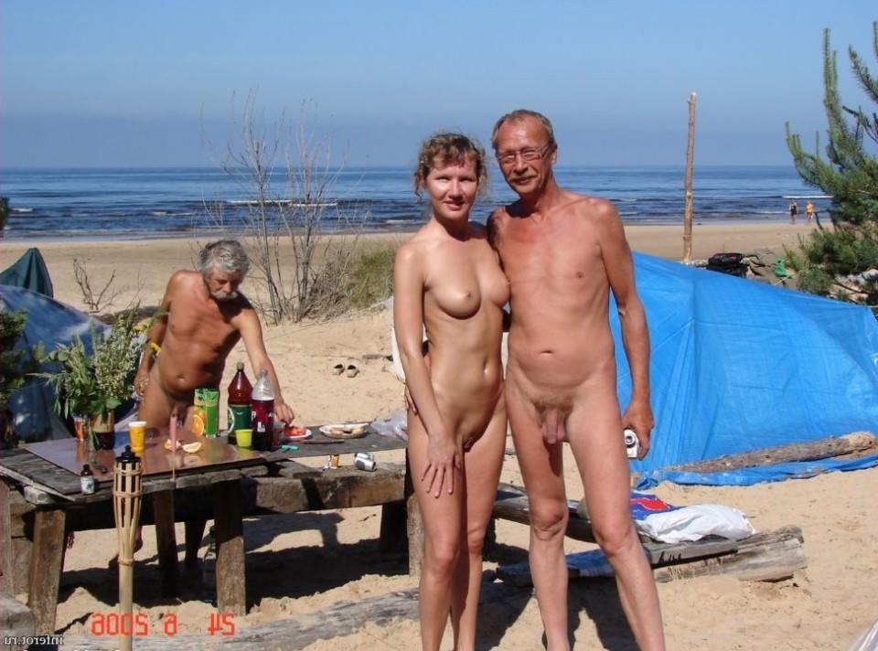Секс старых пляжи