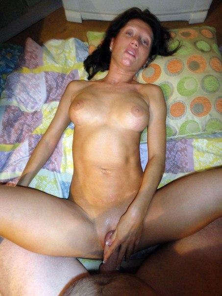 Секс с зрелой худой